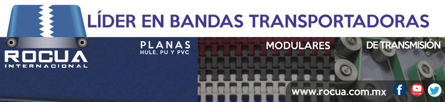 rocua internacional bandas planas, plásticas, modulares
