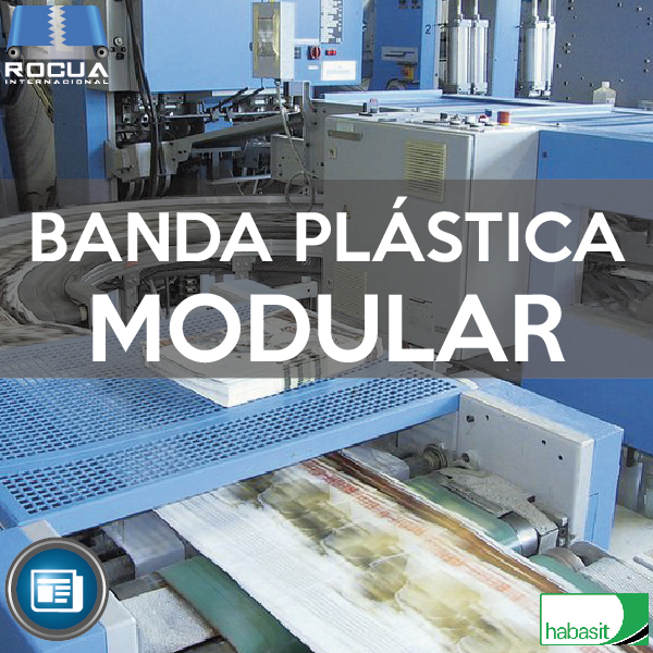 banda plastica modular para papel