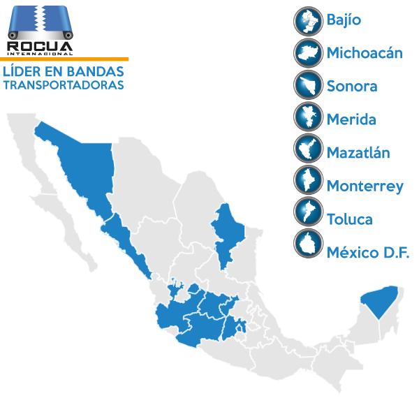 bandas transportadoras industriales en mexico