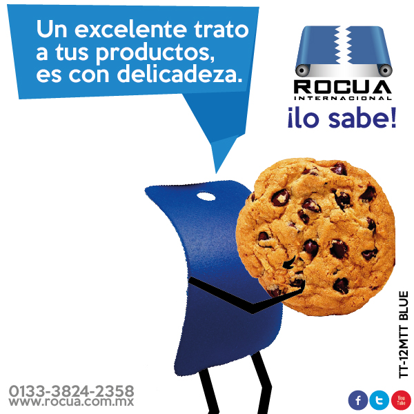 bandas transportadoras galletas