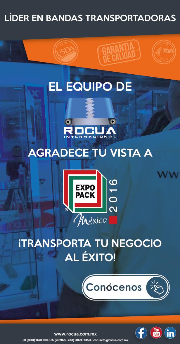 expopack mexico bandas transportadoras