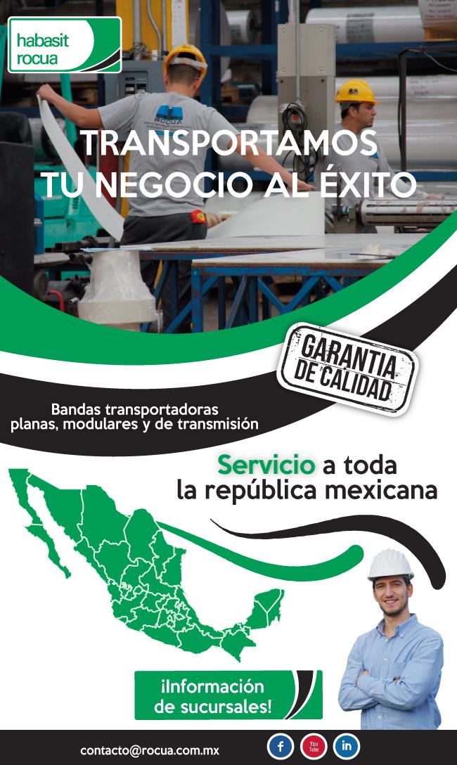 venta de bandas transportadoras en mexico